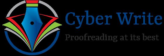 Header for Cyber Write website